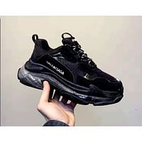 Balenciaga Tide brand men's and women's retro platform sneakers