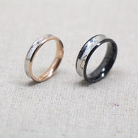 2pcs  couple rings,lovers rings,promise rings,wedding bands