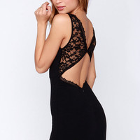 LULUS Exclusive Bring the Heat Black Lace Bodycon Dress