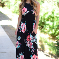 Dreamland Maxi Dress- Rose