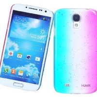 i-UniK Lucent Gradient Dew Samsung Galaxy S4 [i9500 S IV SIV] Slim Protection Case / Cover [Retail Packaging]  (Galaxy S4, Rainbow Dew)