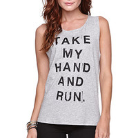 Afends Take My Hand N Run Muscle Tee at PacSun.com