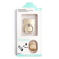 Square Phone Ring Holder & Hook Set