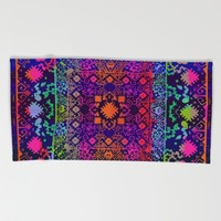 Eva Dark Beach Towel by Aimee St Hill