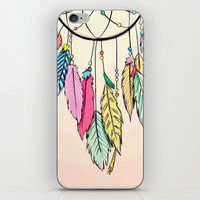 dream catcher; iPhone & iPod Skin by Pink Berry Patterns