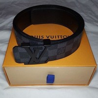 PEAPNQ2 LV Louis Vuitton Fashion Leather Belt
