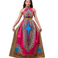 African Dashiki Party Dress