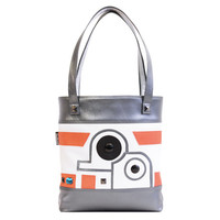The Droid You're Looking For Deluxe Tote Bag | Star Wars BB-8 Inspired Purse | Geek Chic
