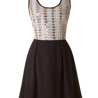 Perfectly Poised Dress - Black