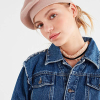 Knit Beret   Urban Outfitters
