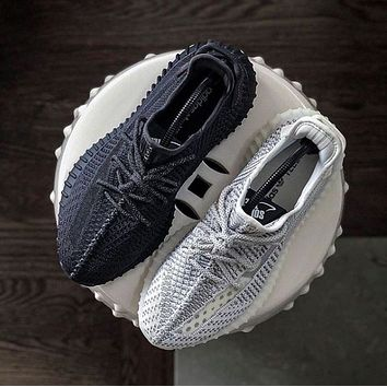 Adidas Yeezy 350 V2 Boots Static Popular Women Men Comfortable Sport Running Shoes Sneakers