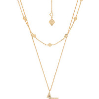 Wanderlust + Co Nova Necklace in Gold | REVOLVE