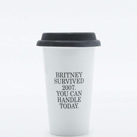 Britney Travel Mug - Urban Outfitters