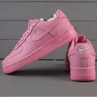 PEAP Nike Air Force 1 Jade AF1 Women Men Running Sport Casual Shoes Sneakers Air force pink