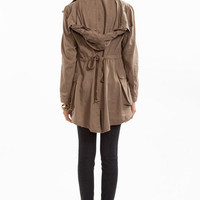 Back That Bow Tie Coat $49