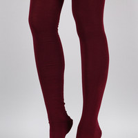 Up To You Thigh High Socks