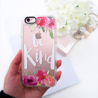 Simple iPhone 6s & 6s Plus Case (Be Kind Pattern) by Casetify