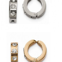 Set of 2 Stainless Steel Polished Ear Cuffs