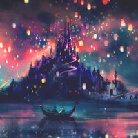 The Lights Art Print by Alice X. Zhang | Society6