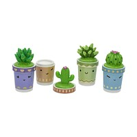 Cutie Cactus Lip Balm Set of 4