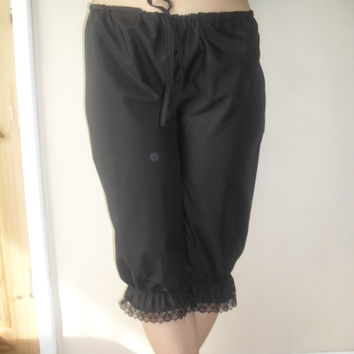 Bloomers crotchless open crotch authentic victorian costume underwear