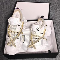 GUCCI Flashtrek sneaker with crystals
