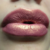 Holographic Golden Pink Lipgloss  Romance by FierceMagenta on Etsy