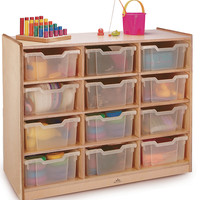 Whitney Brothers 12 Tray Storage Cabinet WB0912T