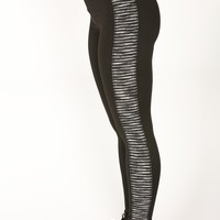 Sonara Active Leggings - Black/Grey