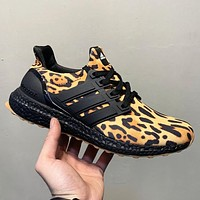 Adidas Ultra Boost New fashion leopard print men running shoes