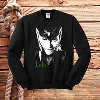 Loki The Avengers Movie Tom Hiddleston sweater unisex adults