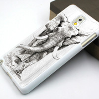 elephant samsung note 2,men's gift samsung note 3 case,wood grain elephant samsung note 4 case,vivid elephant galaxy s3 case,art elephant galaxy s3 case,gift galaxy s4 case,personalized galaxy s5 case