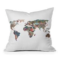 Bianca Green Louis Armstrong Told Us So Throw Pillow