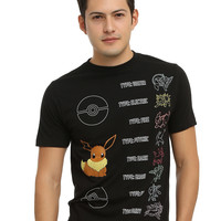 Pokemon Eevee Evolutions T-Shirt