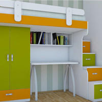 LEGEND Children`s Bunk bed furniture set