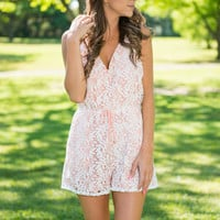 Make My Night Romper, Blush