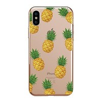 Pineapple Overload - Clear TPU - iPhone Case