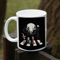 Lock, Shock, and Barrel Nightmare Before Christmas halloween road  mug design