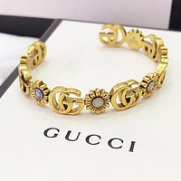 GUCCI Newest Stylish Woman Flower Luxury Bracelet Accessories Jewelry