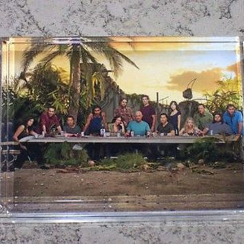 ABC tv show LOST Acrylic Executive Desk Top Paperweight