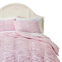 Simply Shabby Chic® Textured Duvet Cover Set - Pink - King