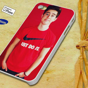 Nash Grier Case for iPhone 4 4S iPhone 5 5S 5C and Samsung Galaxy S3 S4