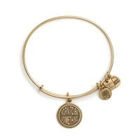 Alex and Ani Born To Be Something Charm Bangle - Russian Gold