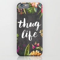 Thug Life iPhone & iPod Case by Text Guy