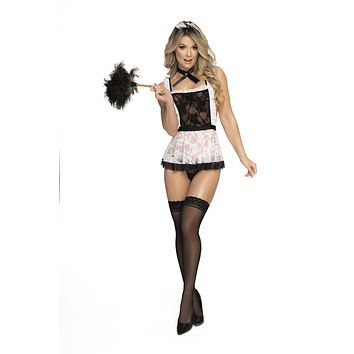 Sexy Maid Set with Thong