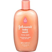 Johnson & Johnson Honey Apple Baby Wash Baby Bath 15 FL OZ PLASTIC BOTTLE - Baby - Baby Health & Safety - Health & Grooming