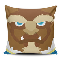 Beauty and The Beast Pillow Covers
