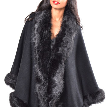 Vegan Fox Swing Coat