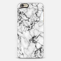 White and Black Marble iPhone 6s case by RylieJaiden | Casetify