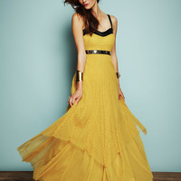 Free People Giannas Limited Edition Leather and Lace Gown at Free People Clothing Boutique